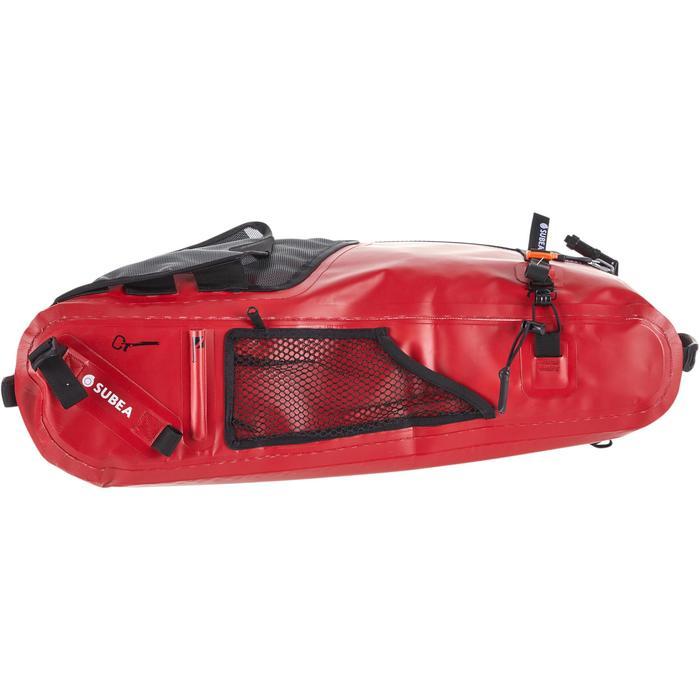 Waterdichte rugzak/signalisatieboei voor harpoenvissen SPF 900