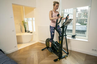 Cross trainer weight-loss programme