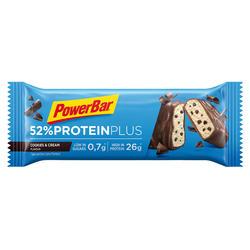 Barra proteica PROTEIN PLUS 52% Cookie & cream 50g