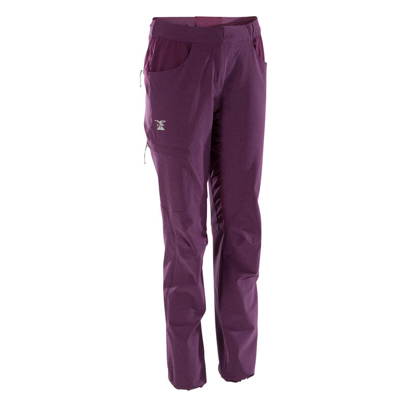 Kadın Tırmanış Pantolonu - Mürdüm Rengi