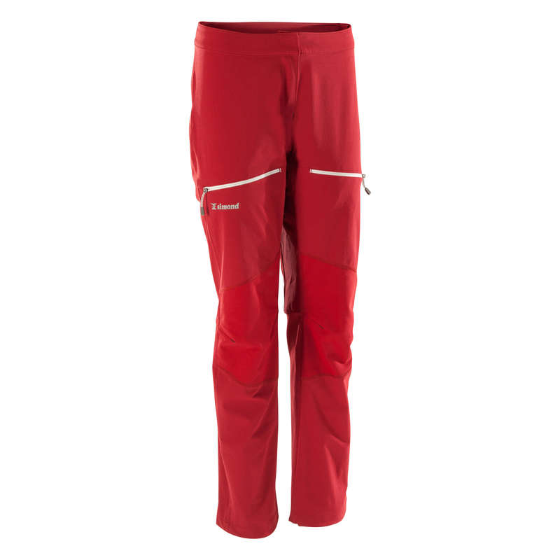 MOUNTAINEERING CLOTHING Mountaineering - WOMEN ROCK 2 trousers Burgundy SIMOND - Mountaineering