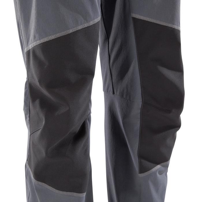 Pantalon léger d'escalade et d'alpinisme homme - ROCK 2 GRIS