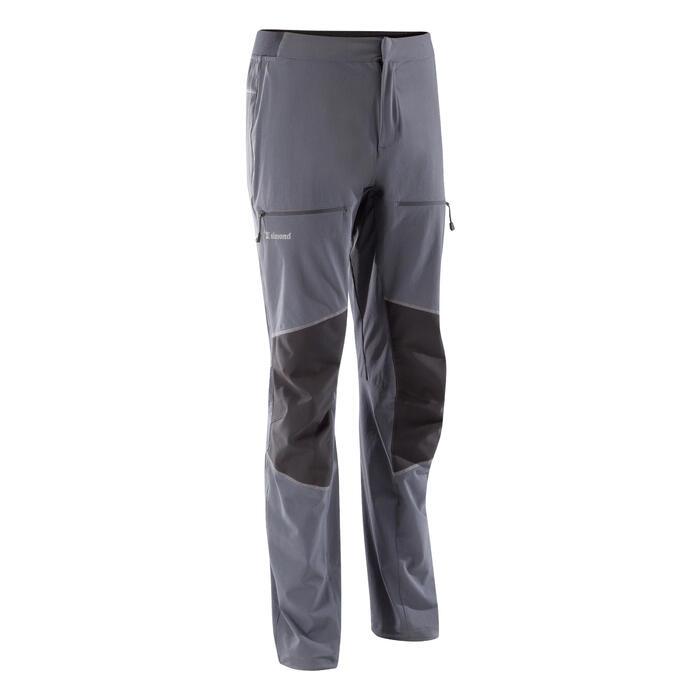 Calças Alpinismo/Escalada Homem Rock 2 Cinzento