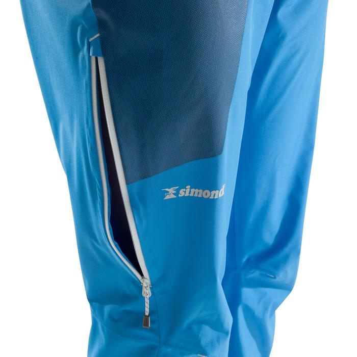 Pantalon d'alpinisme CASCADE 2 FEMME BLEU