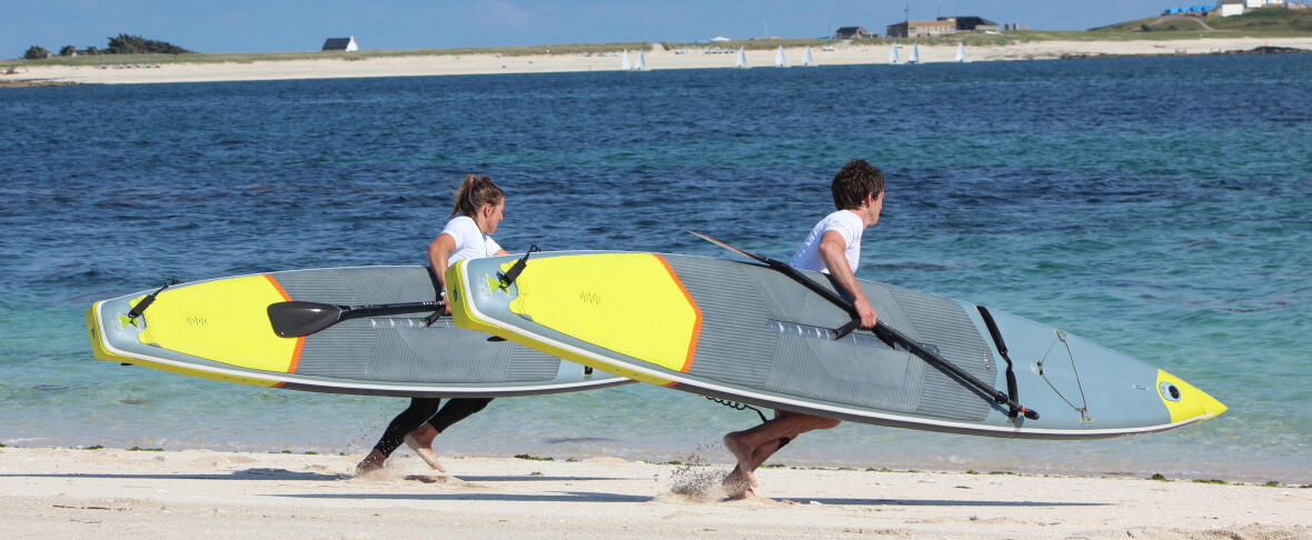 stand up paddle course depart