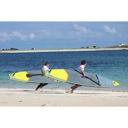 Opblaasbaar supboard voor wedstrijden voor gevorderden 12 voet 6 inch