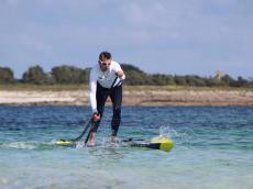 Stand up Paddle Board aufblasbar 14' für langstrecken und wettkämpfe - Race SUP