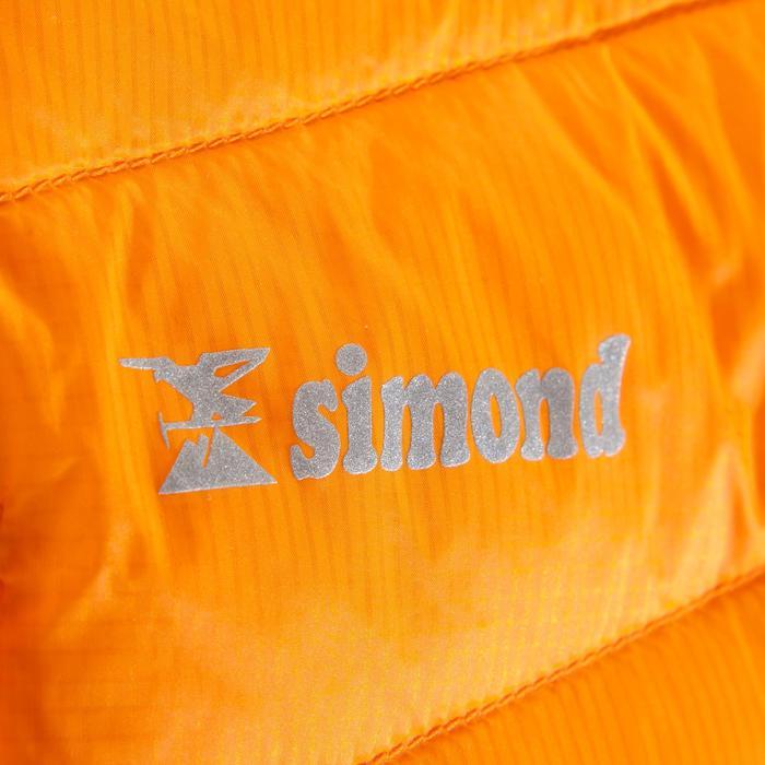 Herendonsjas voor alpinisme Alpinism Light oranje