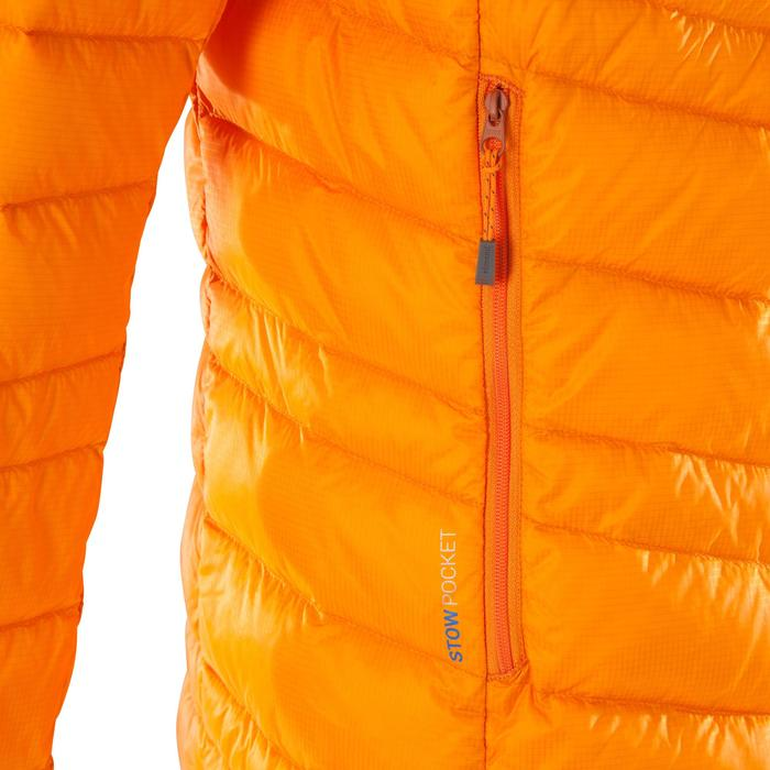 Bergsteiger-Jacke Daunen Alpi Light Isolierung Herren Orange