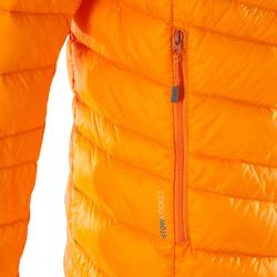 Heren isolatiejas donsjas Light Alpi oranje