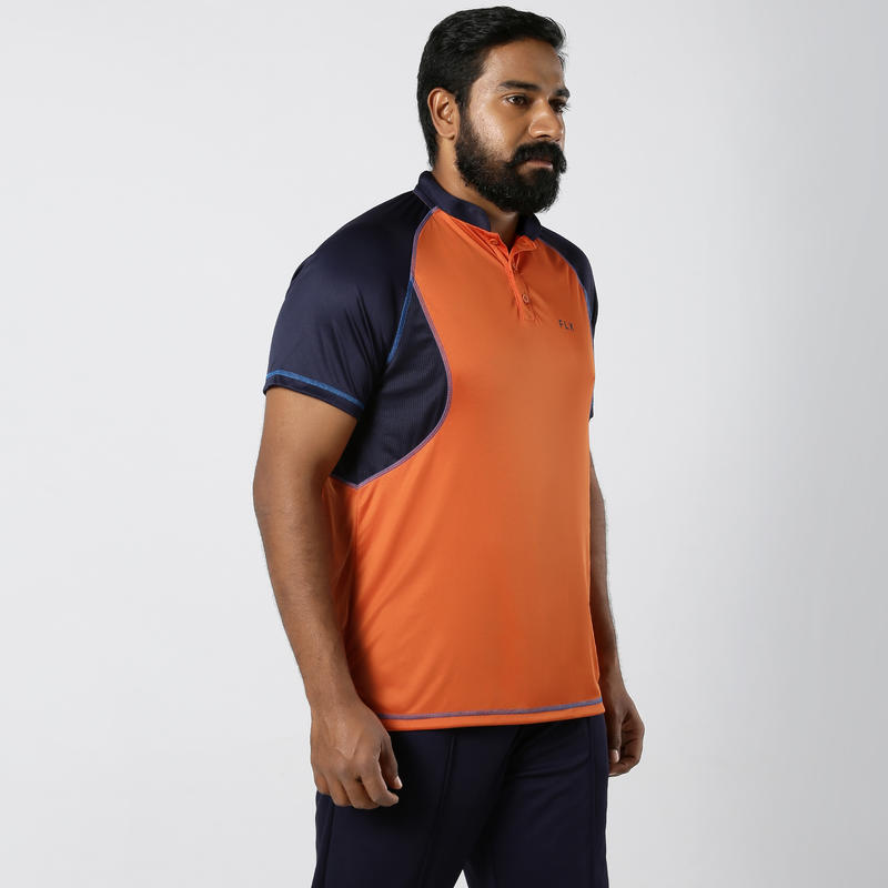 CRICKET POLO TNS 500 ORANGE