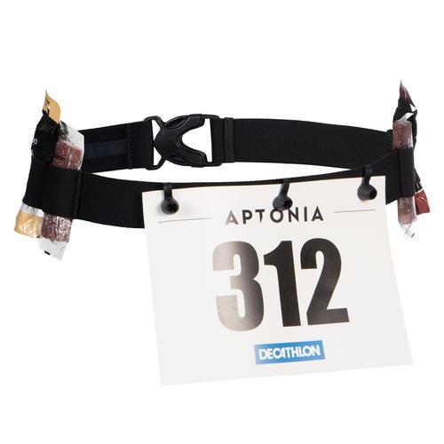 Ceinture accroche dossard course triathlon courte distance S à 3XL
