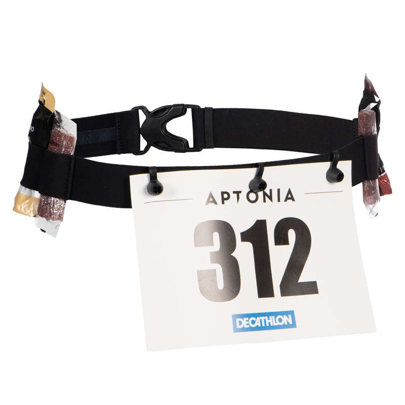 EQUIPMENT ACCESSORIES TRIATHLON Triathlon - TRI SD RACE NUMBER BELT APTONIA - Triathlon Equipment