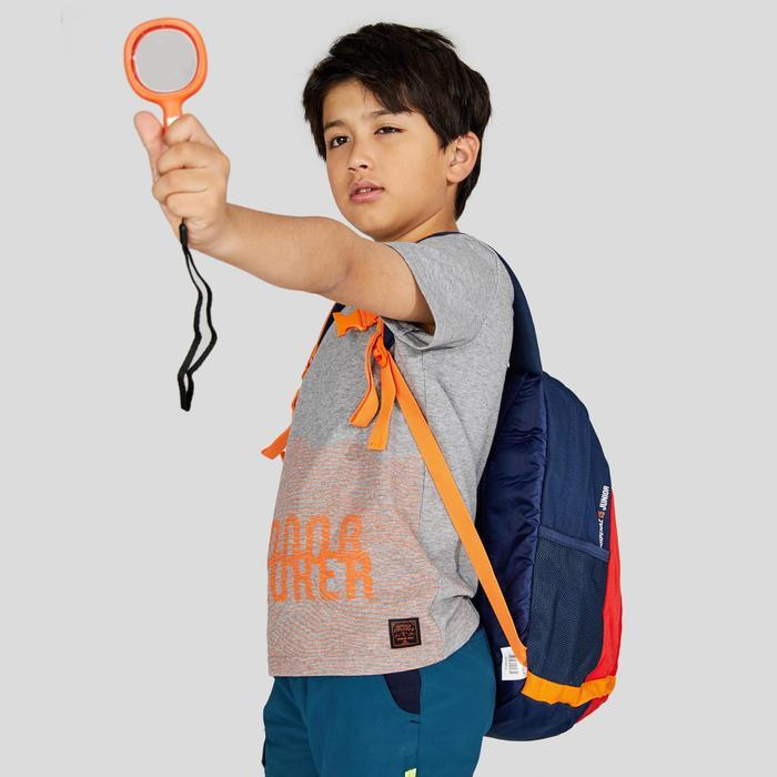 兒童款健行T恤MH100(7 到15歲)-灰色