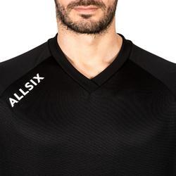Camiesta de Voleibol Allsix V100 hombre negro
