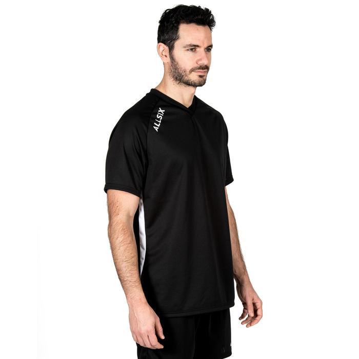 Volleybalshirt voor heren V100 zwart