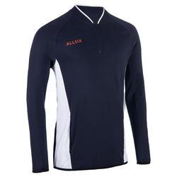 Volleyball-Trainingsjacke VJA100 Herren navy/weiß