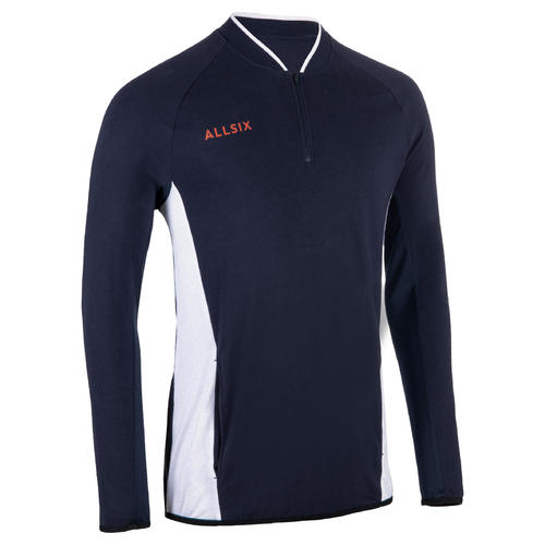 VESTE VOLLEY BALL HOMME VJA100 NAVY BLANC