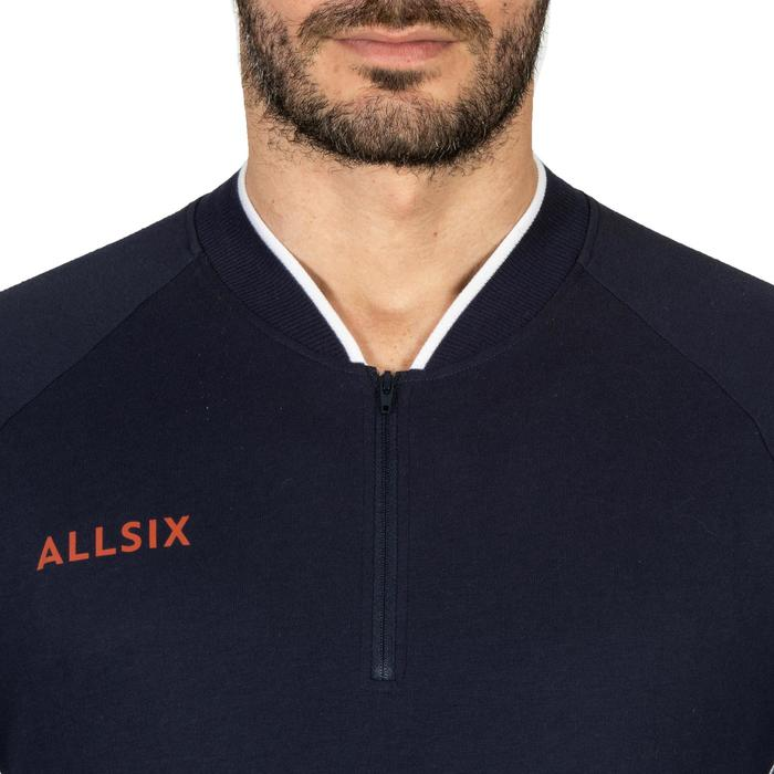 VESTE DE VOLLEY-BALL HOMME VJA100 NAVY BLANC