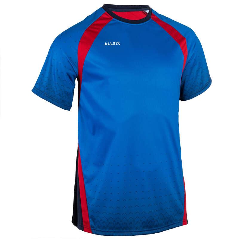 ABBIGLIAMENTO PALLAVOLO Sport di squadra - Maglia pallavolo uomo V500 blu ALLSIX - Abbigliamento, calze Pallavolo