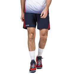 排球短褲V500-藍紅配色