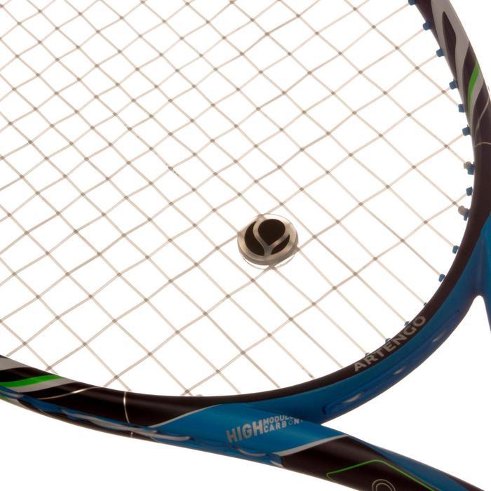 Tennis-Vibrationsdämpfer rund TA durchsichtig oder schwarz
