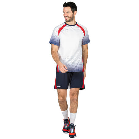 V500 Volleyball Shorts - Blue/Red