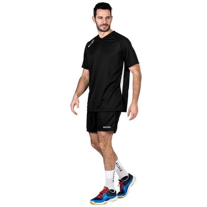 Volleyballshorts V100 Herren schwarz