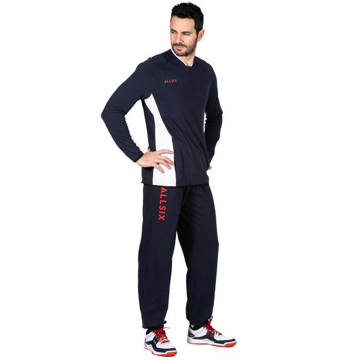 Pantalón largo de Voleibol Allsix V100 adulto azul marino