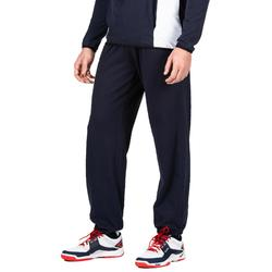 Trainingshose lang V100 Volleyball Erwachsene navy/rot