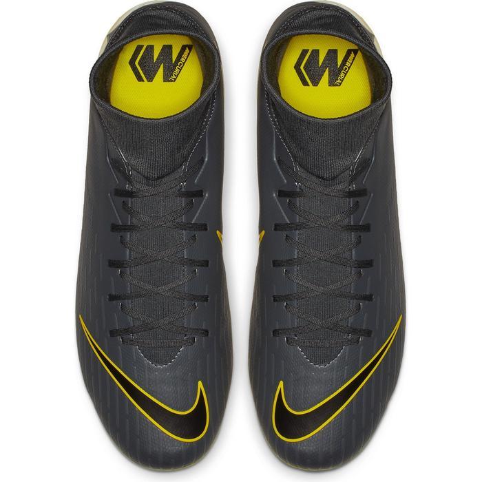 aeee153ea09 Botas de Fútbol adulto Nike Mercurial Superfly 6 Academy FG MG gris y  amarillo