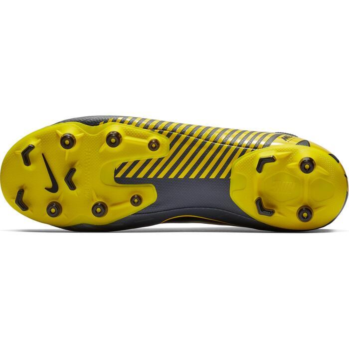 Voetbalschoenen Mercurial Superfly 6 Academy MG grijs/geel