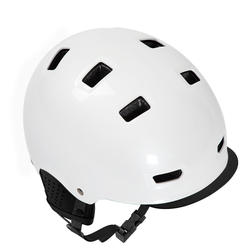 500 City Cycling Bowl Helmet - White