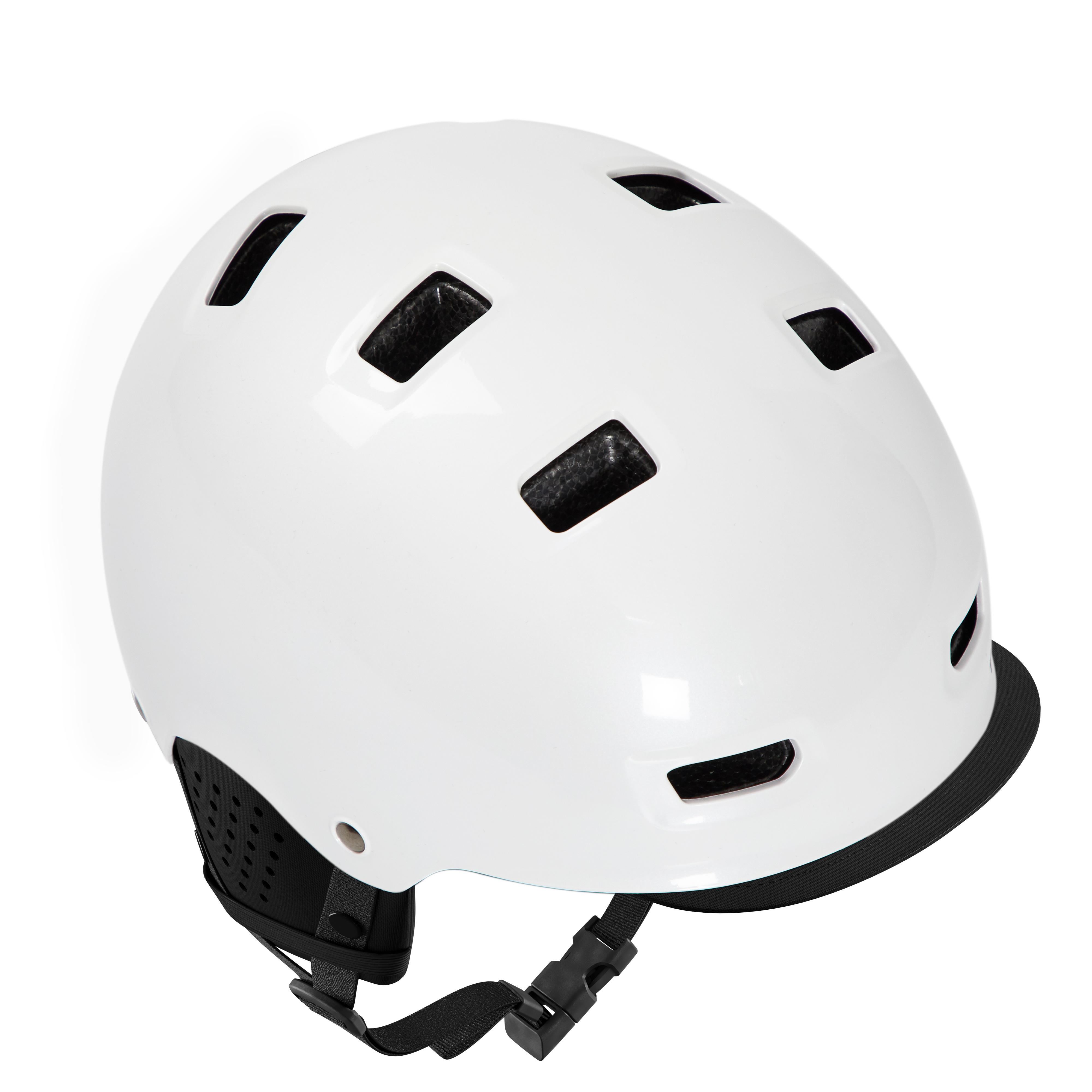 Cască ciclism 500 Alb imagine