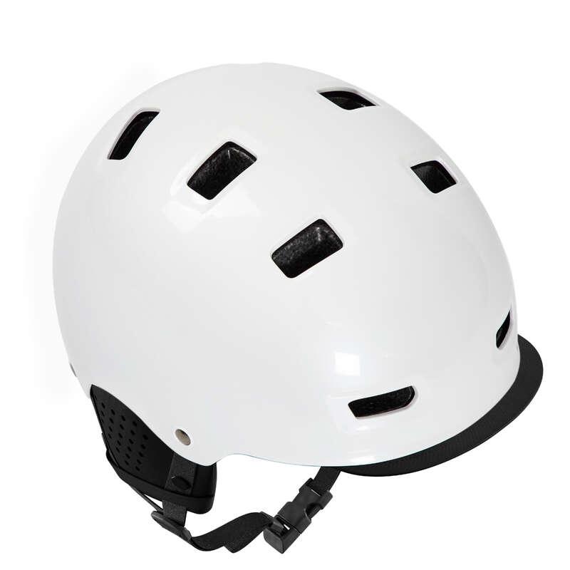 Шлемы городские Велоспорт - Велосипедный шлем VILLE 500 BTWIN - Экипировка