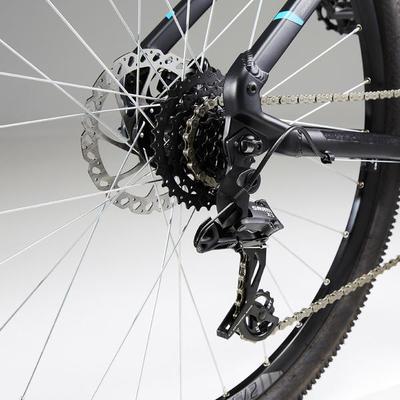 """Гірський велосипед Rockrider 520 27,5"""" - Чорний"""