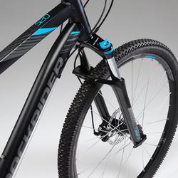 "ST 520 27.5"" Mountain Bike - Black/Blue"