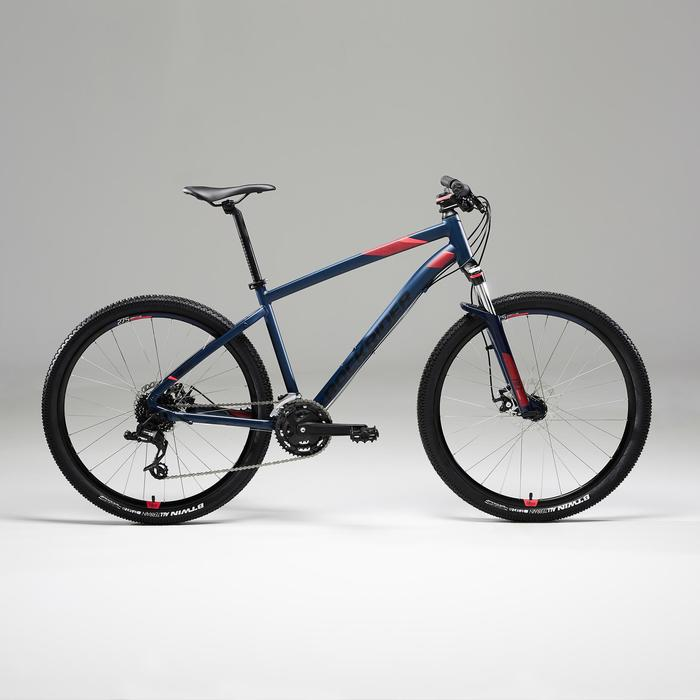 "Mountainbike dames ST520 27.5"" 3x8 speed microshift/sram donkerblauw"