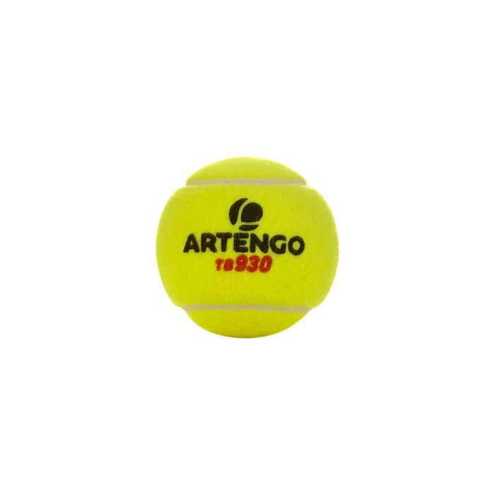TB930 MATCH TENNIS BALL - YELLOW - 163870