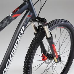 Mountainbike ST540 27,5 Zoll schwarz/rot