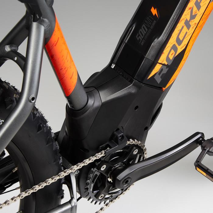 Elektrische mountainbike E-ST 900 oranje 27.5 PLUS