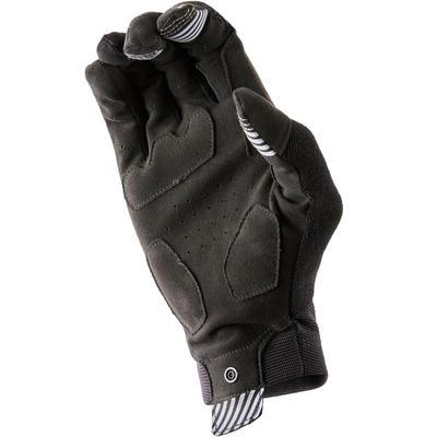 Рукавиці 100 для катання на гірському велосипеді - Чорні