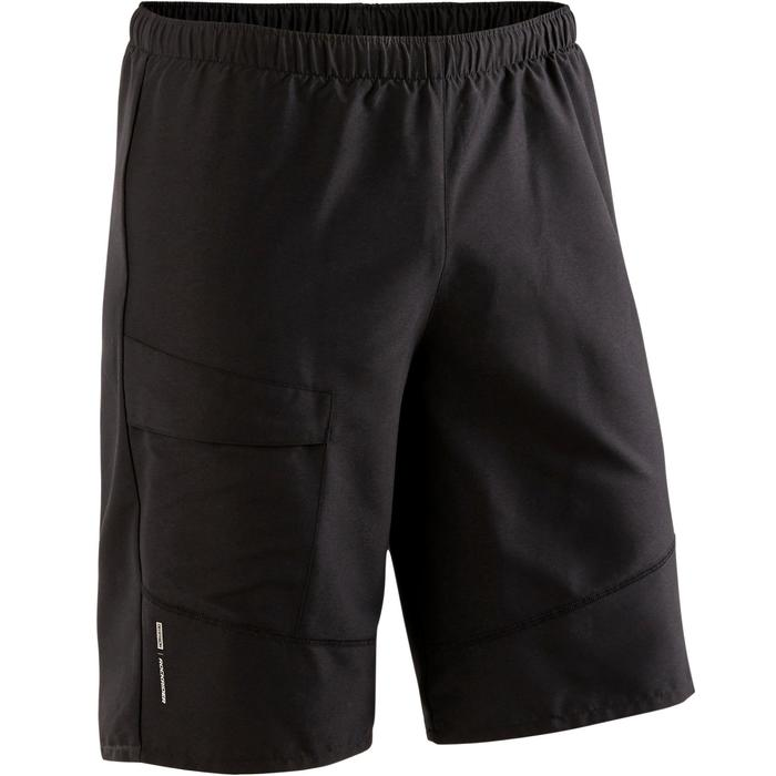 MTB short heren ST 100 zwart
