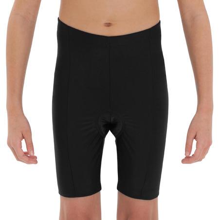 300 Kids' Cycling Shorts - Black