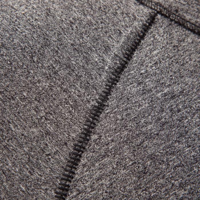 Damesshirt Comfort met lange mouwen voor klimmen blauw grijs