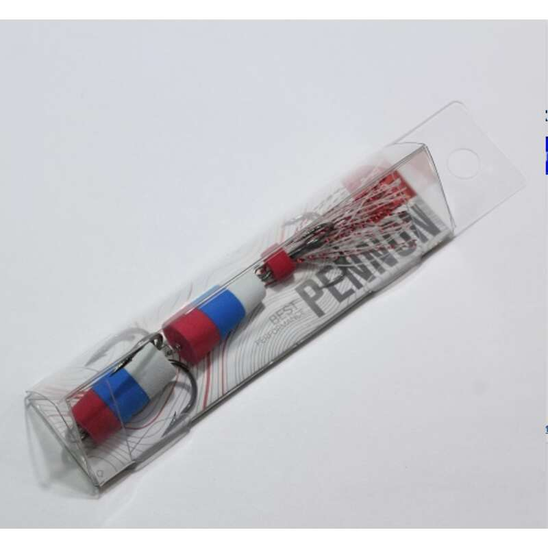 Мягкие приманки от 7 см Рыбалка - RU Ribolov PENNON 11 RedBlueWh RIBOLOV SERVICE - Приманки