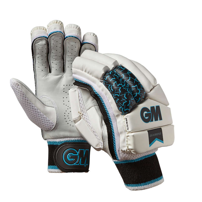 LEATHER BALL INTERMEDIATE CRICKET BALLS Cricket - GM Diamond BS55 Batting Glove GUNN & MOORE - Cricket