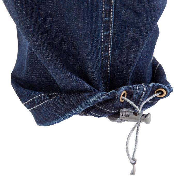 Comfortabele klimjeans dames blauw