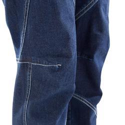 Kletterhose Comfort Damen bequem blau