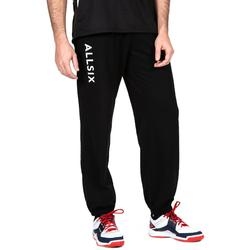 Pantalon de volley-ball V100 adulte noir blanc